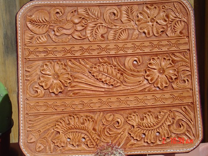 The gallery for gt oak leaf leather carving pattern